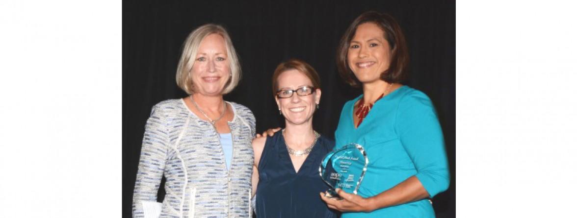 Sherri Ly Of Washington D C Receives Award From