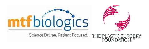 MTF Biologics and The Plastic Surgery Foundation Logos